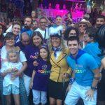 Familias de Naizen con Bea Sever en la Aste Nagusia